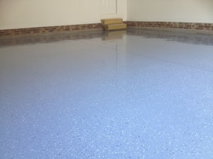 Garage Floor Refinishing in Cary NC