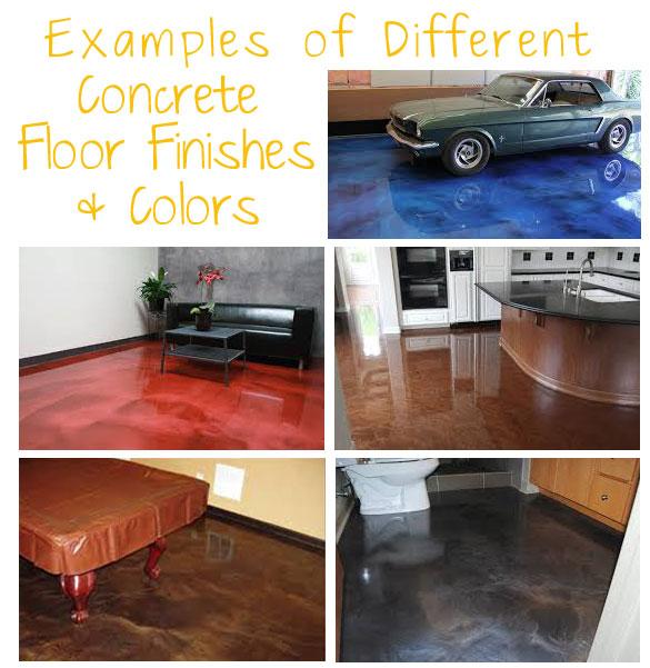 Metallic Epoxy Concrete Floors Examples