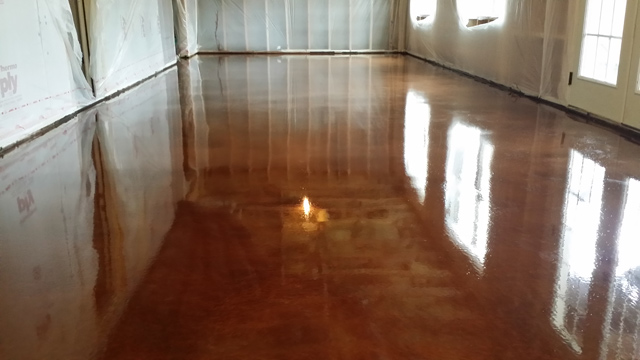 Copper Floor Cents And Sensibility How To Install A Penny