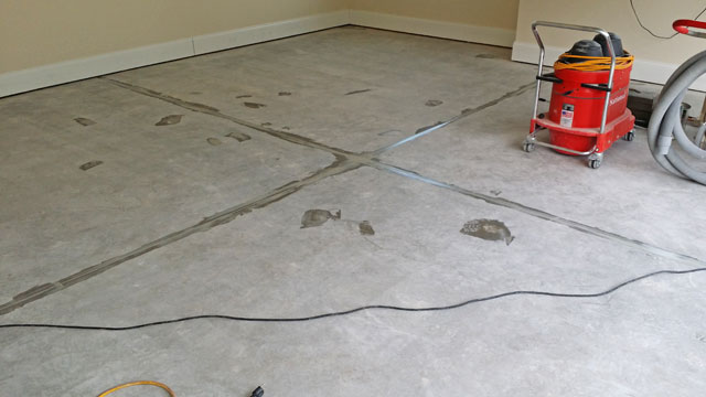 Black Marble Full Broadcast Epoxy Floor In Cary Nc By The
