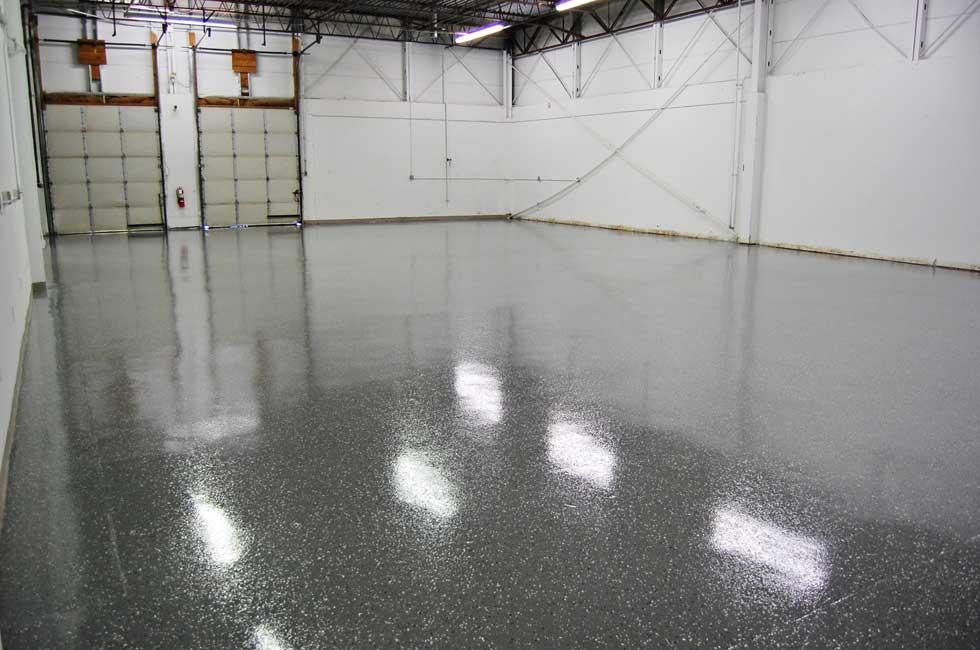 Black Paint For Concrete Floors