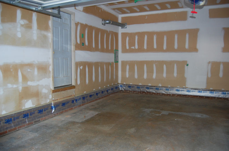 desert tan epoxy floor with flakes morrisville nc - Garage Makeover
