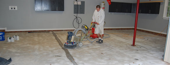 diamond grinding concrete floor holly springs