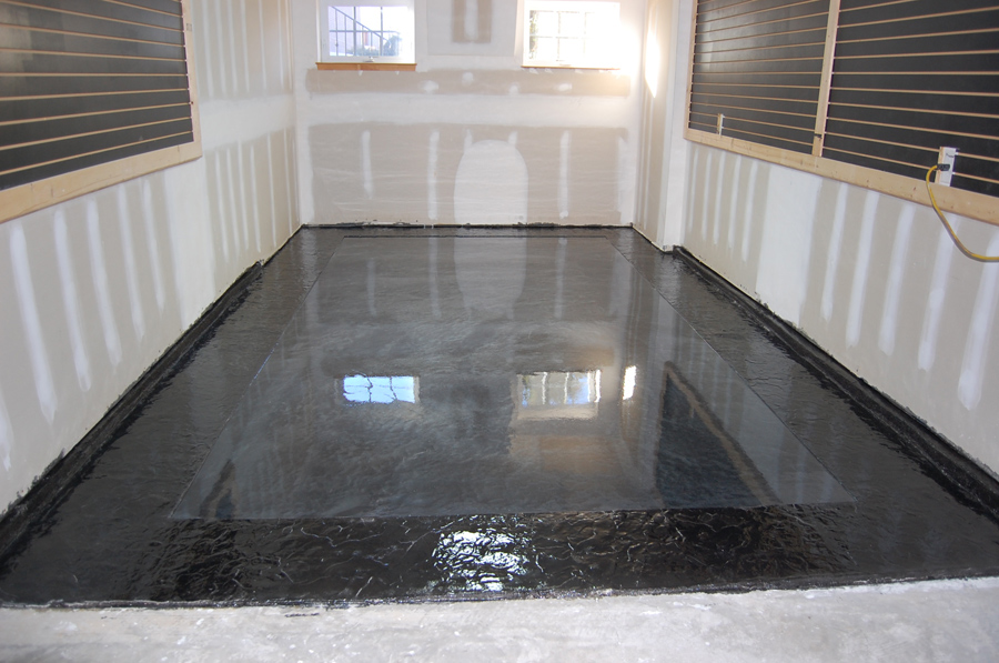 Metallic Epoxy Stamped Slate Floor By Witcraft Decorative
