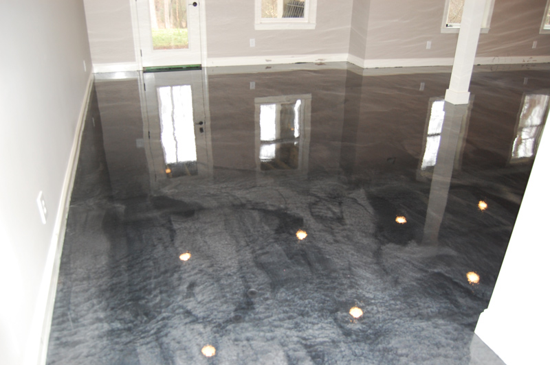 03 16 15 0517 raleigh basement man cave metallic epoxy floor rh witcraftepoxyflooring com epoxy floor basement michigan epoxy basement floor coating