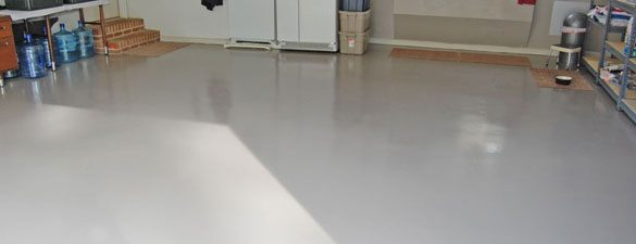 Epoxy Garage Floor North Raleigh Anvil Gray FEATURE 585x225