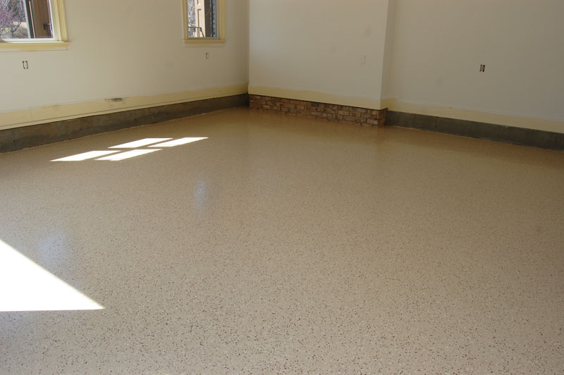 Witcraft Decorative Concrete Garage Floor Refinishing