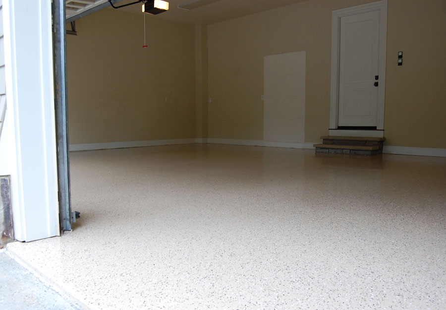 Garage Floor King Desert Tan In North Raleigh Nc