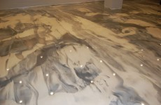 Beazer-Homes-Showroom-Raleigh-0047-silver-pearl-metallic-floor-1000