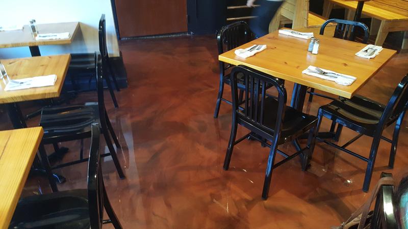 ... 090316 The Provincial Restaurant Apex Epoxy Metallic Floor  ...