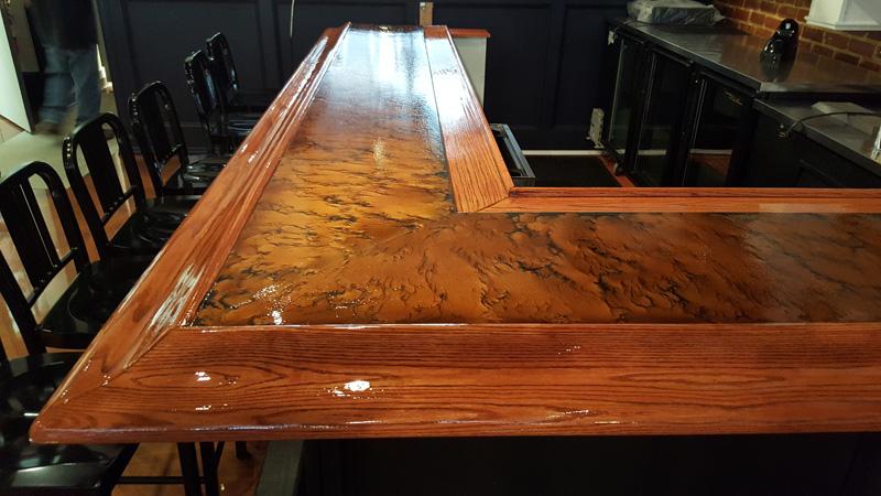 Theprovincialrestaurantapexepoxymetalliccommercial - Epoxy floor coating for restaurants