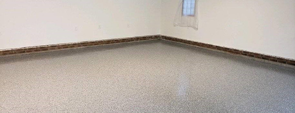 10182019 Raleigh Refinished Epoxy Garage Floor Black Flake FEATURE 585x225