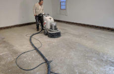 10182019-raleigh-refinished-epoxy-garage-floor-black-flake-before-1
