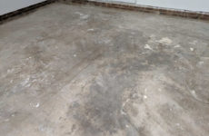 10182019-raleigh-refinished-epoxy-garage-floor-black-flake-before-2
