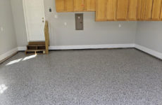 041720202-preston-village-cary-concrete-garage-floor-refinishing-black-flake-epoxy-2